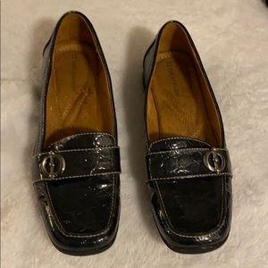 Naturalizer dark blue textured loafer Sz 8.5